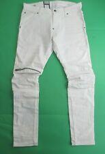 G-Star Raw Men's 5620 3D Zip Knee Slim Fit Stretch Jeans White W34 - L32
