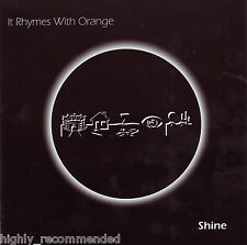 Shine by It Rhymes with Orange (CD, 2010 ) RARE!  Rock & Pop