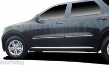 FOR DURANGO NO CITADEL Painted Body Mouldings Molding W/ Chrome Insert 2011-2018