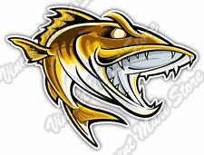 """Catfish Fish Fishing Fisherman Cartoon Car Bumper Vinyl Sticker Decal 5""""X4"""""""