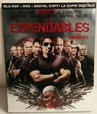 The Expendables (Blu-ray/DVD, 2010, 2-Disc Set,)Brand New w/Foil Slipcover