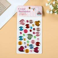 DIY Gemstone Diamond Three-dimensional Children Sticker J6H8 E9E0