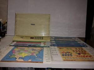Vintage GeoSafari EI8800 Electronic Learning System Bundle
