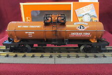 RARE Lionel 7-99007 SMUCKER'S HOT FUDGE Single Dome Tank Car ONLY 1500 ISSUED