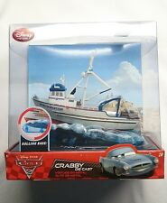 DISNEY PIXAR CARS 2 CRABBY EXCLUSIVE WITH ROLLING BASE FACTORY SEALED BOX NIB!!