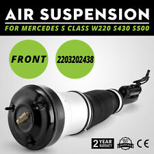 Use single Front Air Suspension Strut Shock fit Mercedes S Class W220 S430 Look
