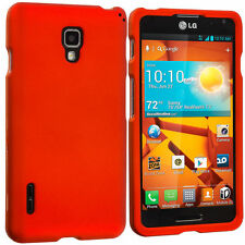 Glossy Rigid Plastic Mobile Phone Fitted Cases/Skins for LG