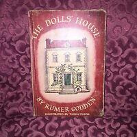 Vint Illustrator Tasha Tudor DOLLS HOUSE 1st Ed 4th Printing Authur Rumer Godden