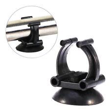 2Pcs Black Aquarium Tank Air Pump Heater Tubing Suction Cup Clip Sucker-Holders