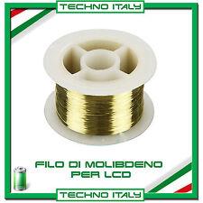 FILO IN MOLIBDENO 100 METRI PER SEPARARE LCD TOUCHSCREEN VETRO   HTC