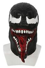 XCOSER Movie Spider-Man Venom Cosplay Mask Hood Helmet Halloween Mask for Adults