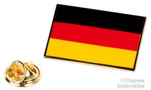 GERMANY FLAG ENAMEL LAPEL PIN Deutschland GERMAN Bundesflagge TIE TACK BADGE