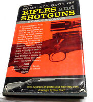 1961 Complete Book of Rifles & Shotguns Hard Cover w Dust Jacket