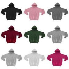 Magliette, maglie e camicie con cappuccio in misto cotone per bambine dai 2 ai 16 anni