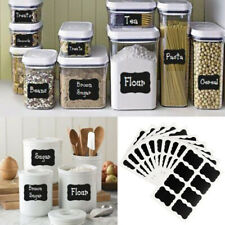80pcs Chalkboard Blackboard Stickers Decals Craft Kitchen Chalk Board Jar Labels