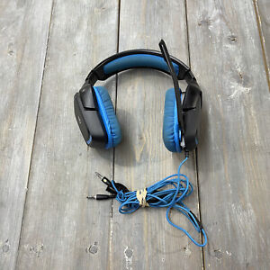 Logitech G430 Blue Black Gaming Headset with Mic Adjustable
