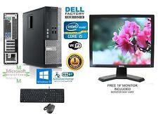 Dell Optiplex 990 SFF PC i5 2500 Quad 3.3GHz 8GB 500GB Windows 10 hp 64