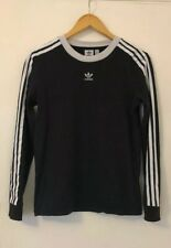 Adidas Original Women's Stripe Long Sleeve Tshirt  Size 10