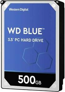 Western Digital Blue 500 GB Disque dur interne SATA III WD5000AZLX