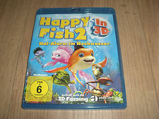 Happy Fish 2 Hai-Alarm im Hochwasser 3D Blu-Ray inkl. 2D Version