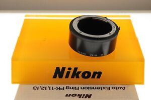 Nikon PK-13 extension tube 27.5mm for Nikon Ai F mount. EXC+ condition.+manual.