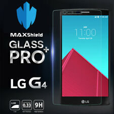 Genuine Maxshield 9hr Tempered Glass Screen Protector Film for LG G4