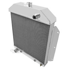 Champion 3 Row All Aluminum Radiator For 1949 - 53 Ford Cars