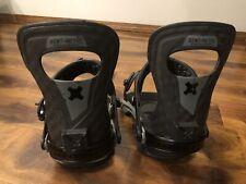 Bent Metal Solution Snowboard Bindings Carbon Fiber Men Medium 8-11 $379