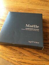 Maelle Sunkissed Blush Palette Full Size, sleek, reflective design, New in box