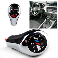 BMW M sport Z3 E36 E46 E90 E91 E92 E93 E39 E61 gear knob shift chrome 6 speed