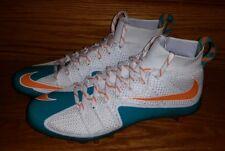Nike Vapor Untouchable TD Football US 11 Miami Dolphins 707455-117 White Aqua