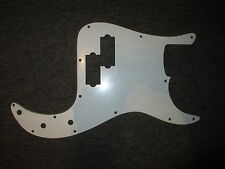MIGHTY MITE BASS GUITAR PICKGUARD in WHITE - FITS A FENDER PRECISION - USA / MEX