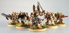 WARHAMMER 40K TERMINATOR SQUAD SPACE MARINES DARK ANGELS DEATHWING X 5