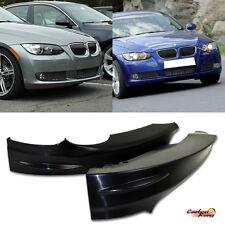 Unpaint BMW E92 3-Series 2D Coupe OE Front Bumper Splitter Lip Spoiler 07-09