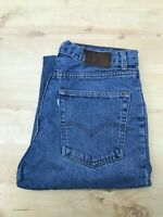 Men's Levi's 615 Straight Leg Blue Jeans W32 L32 (#A882)