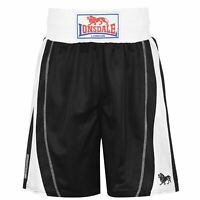 Lonsdale Performance Boxing Shorts Mens Gents Pants Trousers Bottoms Ventilated