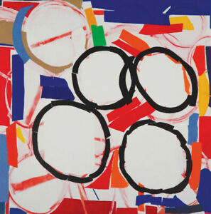 Sandra Blow Limited Edition screen print 'Interaction'