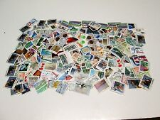 CANADA USED GROUP OF LRG  PICTORIALS & COMMEMS,15 GRAMS OR 1/2 OZ ALL OFF PAPER