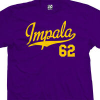 Impala 62 Script Tail T-Shirt - 1962 Lowrider Classic Tee - All Sizes & Colors