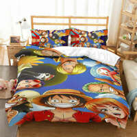 Red Hat One Piece 3D Printing Duvet Quilt Doona Covers Pillow Case Bedding Sets