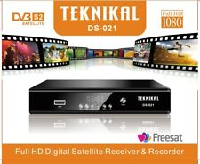 More details for full hd freesat set top box receiver + recorder + satellite tuner, use sky dish