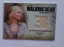 The Walking Dead season 3 part 2 wardrobe card