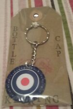 bottle cap keyring spitfire