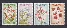 Pflanzen - Blumen  Malawi  489 - 92  **  (mnh)