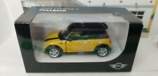 2016 2017 2018 BMW MINI COOPER S BMW BRAND 1:36 SCALE PULLBACK PRESS PROMO CAR