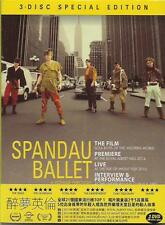 Spandau Ballet The Film Soul Boys Of The Western World DVD 3-Disc Special Ed NEW