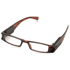 +5.0 Diopter Eschenbach LightSpecs LED Lighted Reading Glasses, Tortoise Liberty