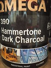 PAINT DARK CHARCOAL - Hammertone Finish 4 Litre! Perfect for Trailers!