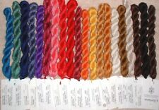 Gloriana Duchess Hand Dyed Silk Perle Thread Floss Yarn Lot for Needlepoint  JG
