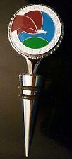 DEA Drug Enforcement Administration 2 Sided Silver Wine Stopper 2 Color Emblems